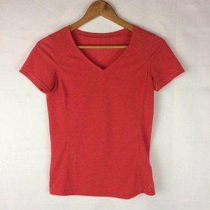 Kuhl V-Neck Short Sleeve Tee Shirt Sz XS